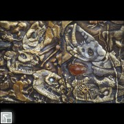 Mammals with insects trapped in amber