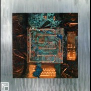 Detail: panel with circuit board