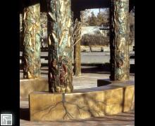 cast concrete pillars
